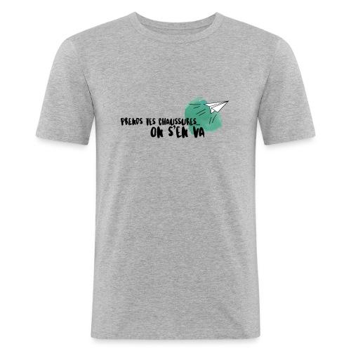 test - T-shirt près du corps Homme