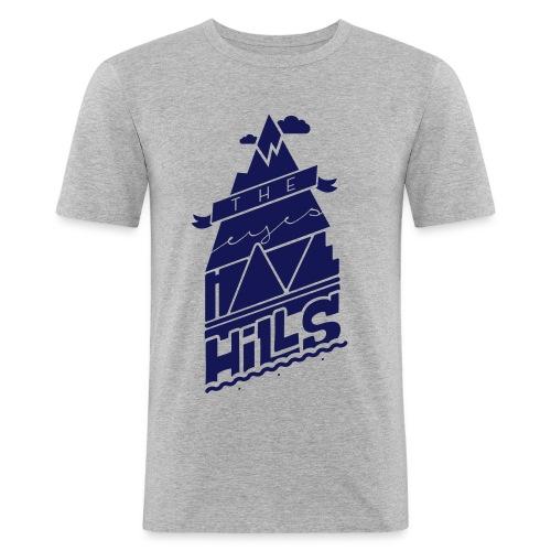 eyeshavehills - Men's Slim Fit T-Shirt