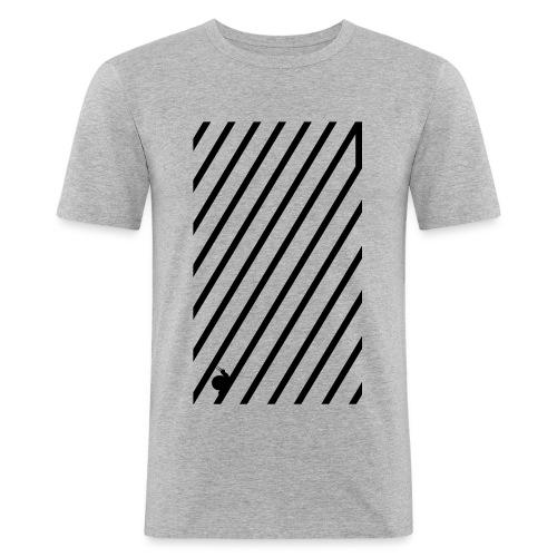 schnecke - Männer Slim Fit T-Shirt