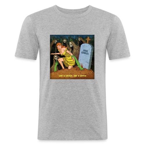 Jesus Complex - Live A Little, Die A Little - Mannen slim fit T-shirt