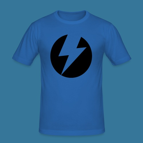 BlueSparks - Inverted - Men's Slim Fit T-Shirt