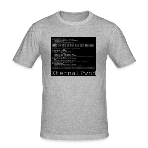 EternalBlue - Mannen slim fit T-shirt