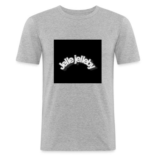 JELLE JELLEBY - Mannen slim fit T-shirt