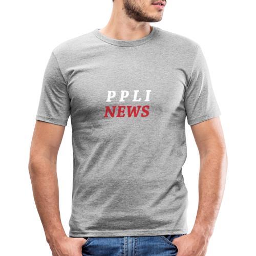 PPLI NEWS - Camiseta ajustada hombre