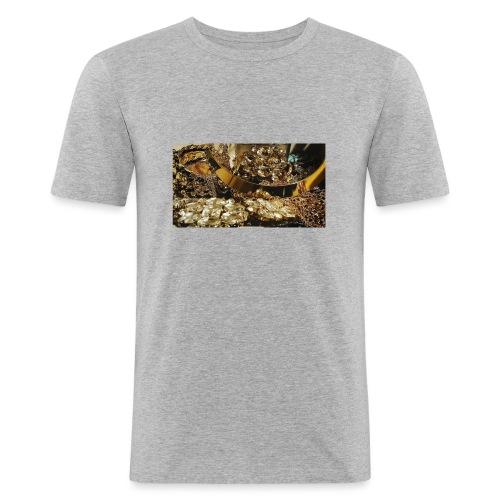 Gold - T-shirt près du corps Homme