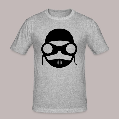 Peeper Biker - Männer Slim Fit T-Shirt