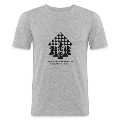 Sundsvalls Schacksällskap - Slim Fit T-shirt herr
