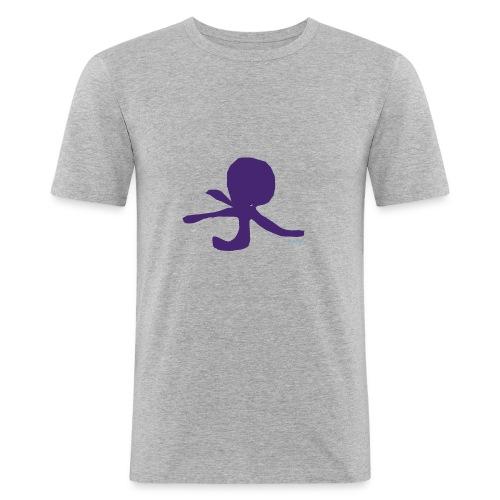 octopus - Maglietta aderente da uomo
