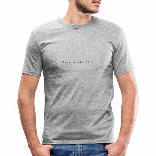 50's - T-shirt près du corps Homme