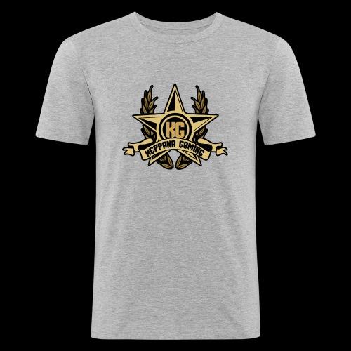 Keppana Gaming - Miesten tyköistuva t-paita