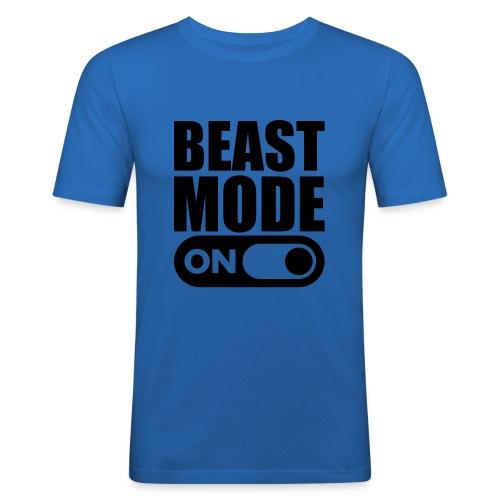 BEAST MODE ON - Men's Slim Fit T-Shirt