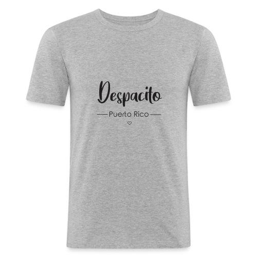 Despacito Puerto Rico: pour femme / Fun & Tendance - T-shirt près du corps Homme