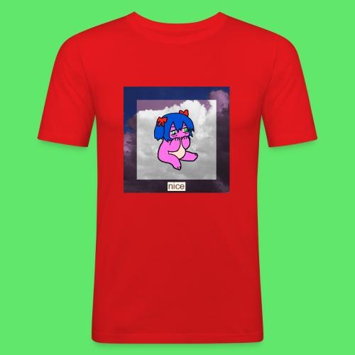 le nice girl - Men's Slim Fit T-Shirt