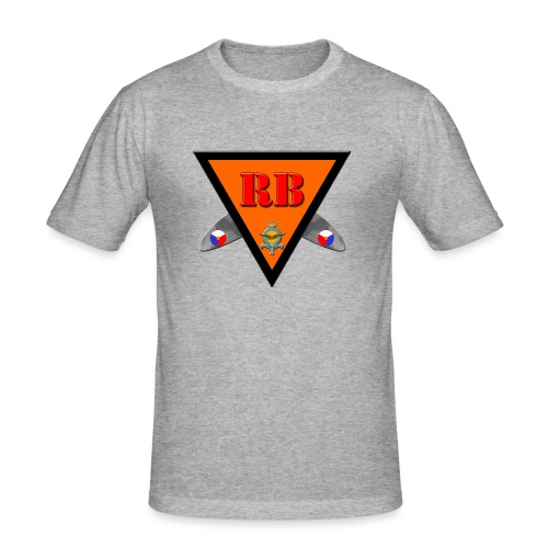 Robinblitz - Men's Slim Fit T-Shirt