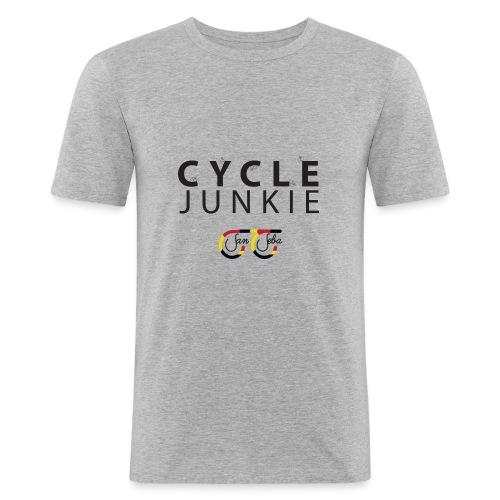 Cycle Junkie San Seba - Mannen slim fit T-shirt