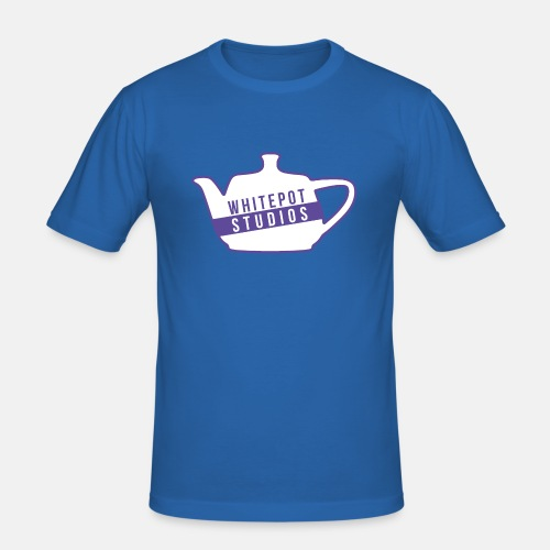Whitepot Studios Logo - Men's Slim Fit T-Shirt
