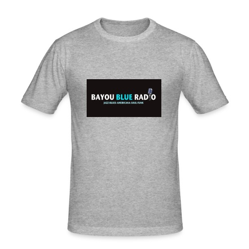 Bayou Blue Radio - T-shirt près du corps Homme