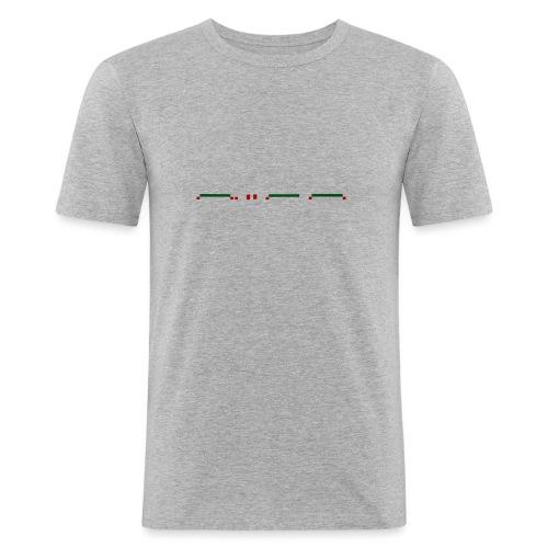 liar - Mannen slim fit T-shirt
