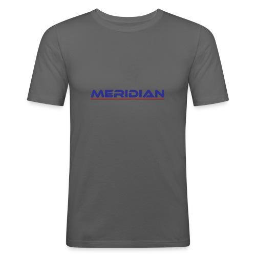 Meridian - Maglietta aderente da uomo