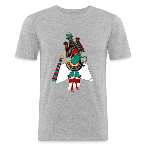 ÄGYPTEN - Osiris - altägyptische Gottheit - Männer Slim Fit T-Shirt