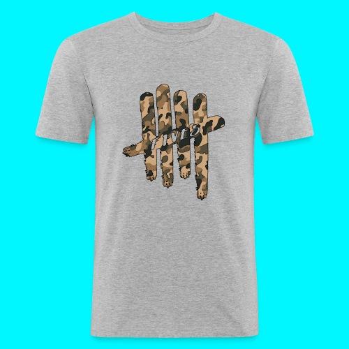 FIVES camo - T-shirt près du corps Homme