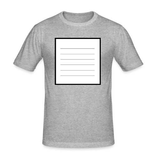 tell me what you think - Männer Slim Fit T-Shirt