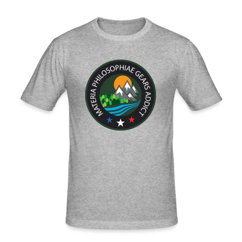 LOGO Materia Philosophiae 2017 - T-shirt près du corps Homme