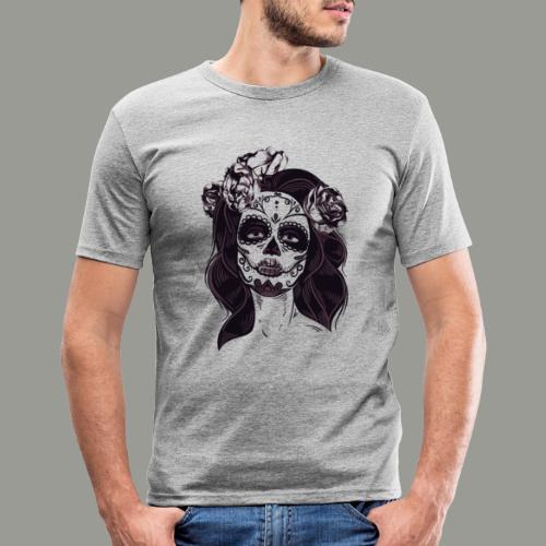 calavera - T-shirt près du corps Homme
