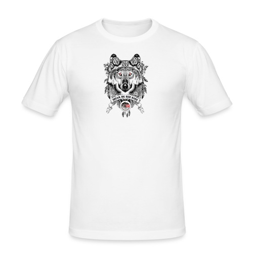 WOLF-PEDAELA - Camiseta ajustada hombre