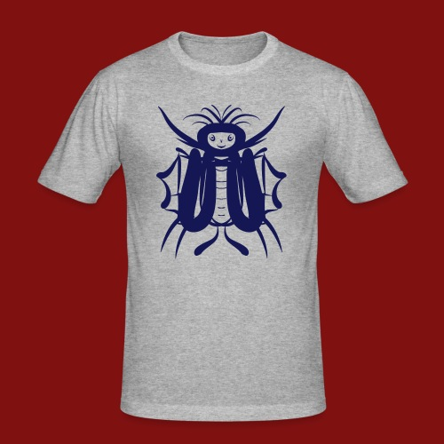 butterflyman - Männer Slim Fit T-Shirt