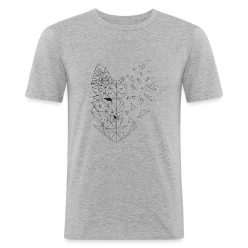 WOLF - Maglietta aderente da uomo