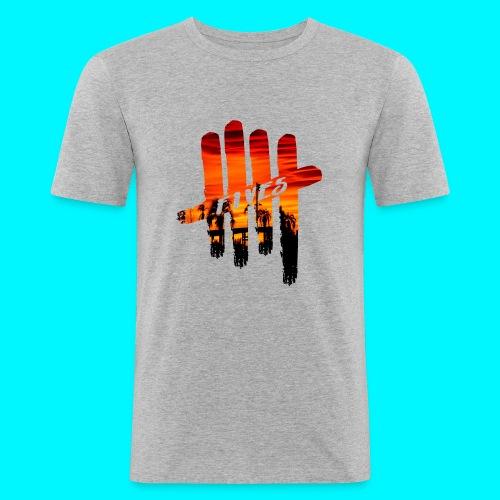 fives vibes - T-shirt près du corps Homme