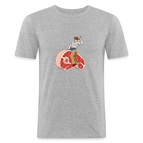 STEAK RODEO - Obcisła koszulka męska