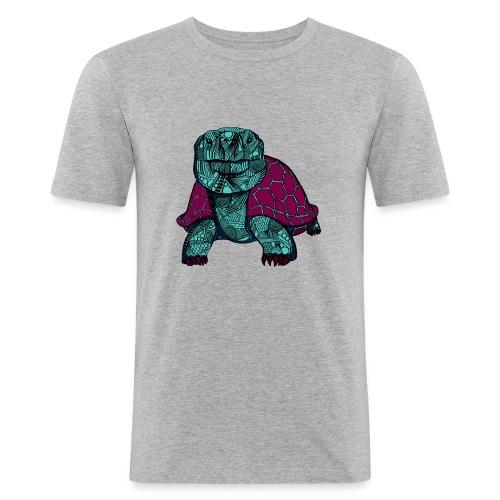 Galapagos Skilpadde - Slim Fit T-skjorte for menn