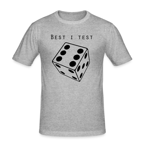 Best i test - Slim Fit T-skjorte for menn