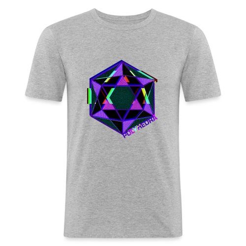 POLYHEDRA - Men's Slim Fit T-Shirt