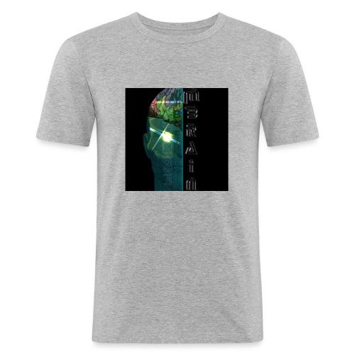 MBRAIN - Maglietta aderente da uomo