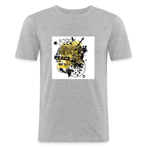 9d8062f0d485f6f23b9c3cc10894a207 - Männer Slim Fit T-Shirt