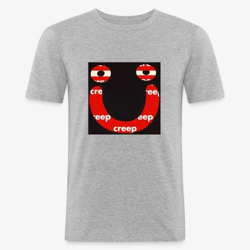 s m i l e - T-shirt près du corps Homme