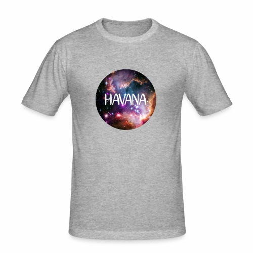 HavanaKosmos - Männer Slim Fit T-Shirt