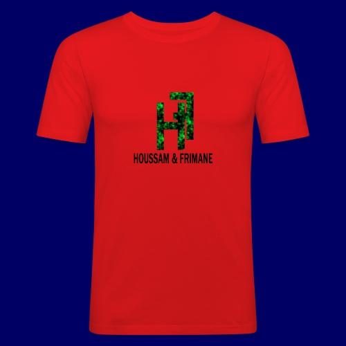 h&f - Maglietta aderente da uomo