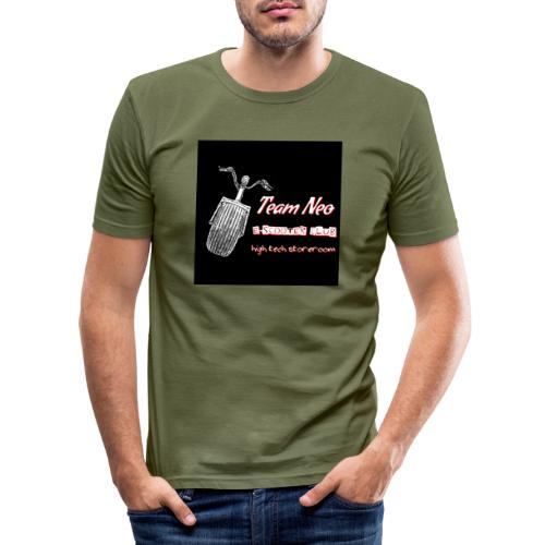 Neo Scooter Club - T-shirt près du corps Homme
