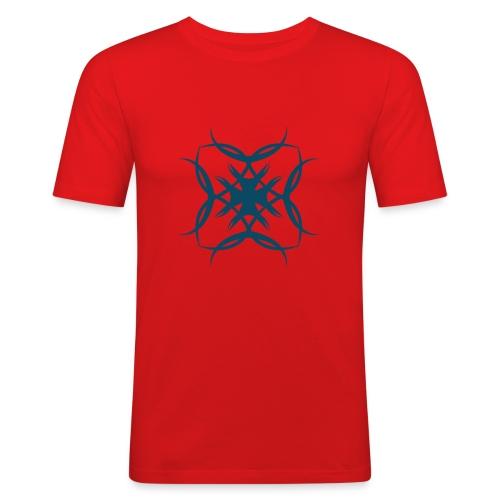 Ritter Kreuz - Männer Slim Fit T-Shirt