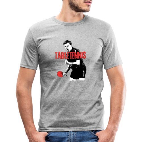 versuch1 png - Männer Slim Fit T-Shirt
