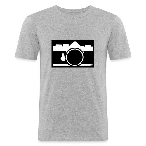 Vintage Camera - Maglietta aderente da uomo