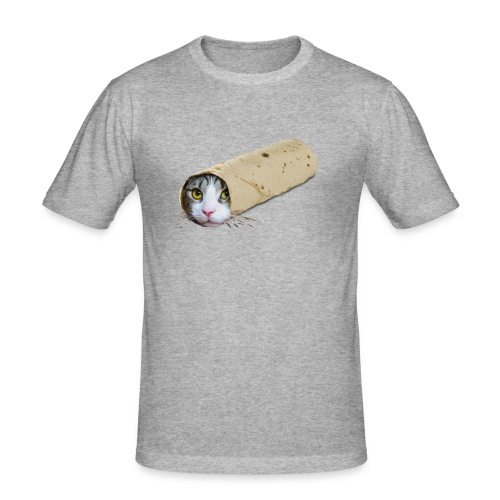 purrrito - slim fit T-shirt