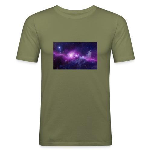 tshirt galaxy - T-shirt près du corps Homme