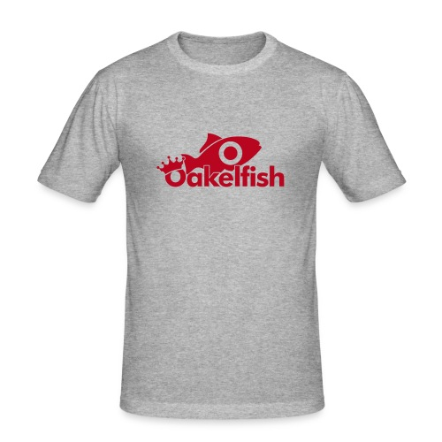 Oakelfish fish - Men's Slim Fit T-Shirt