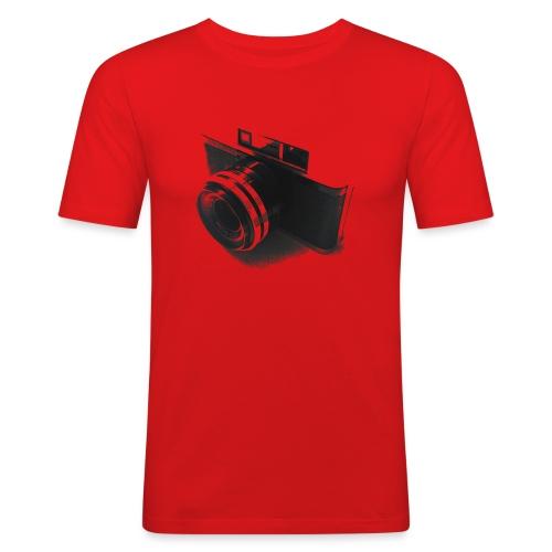 camara (Saw) - Men's Slim Fit T-Shirt