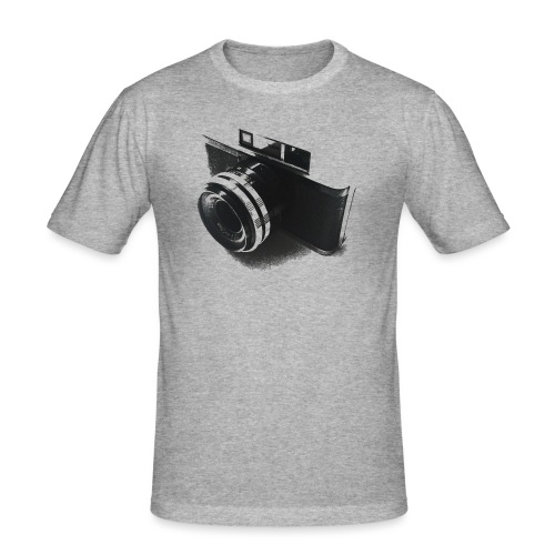 camara (Saw) - Men's Slim Fit T-Shirt